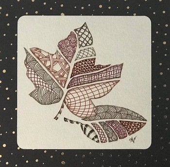ZenTangle Leaves of Fall Workshop