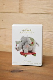 Lil' Peanut Elephant Ornament